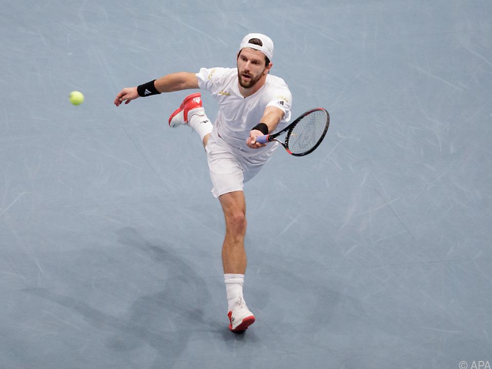 Melzer spielt erstmals seit Wimbledon