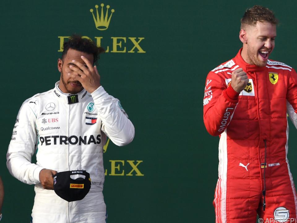 Mercedes verrechnete sich, Vettel jubelte