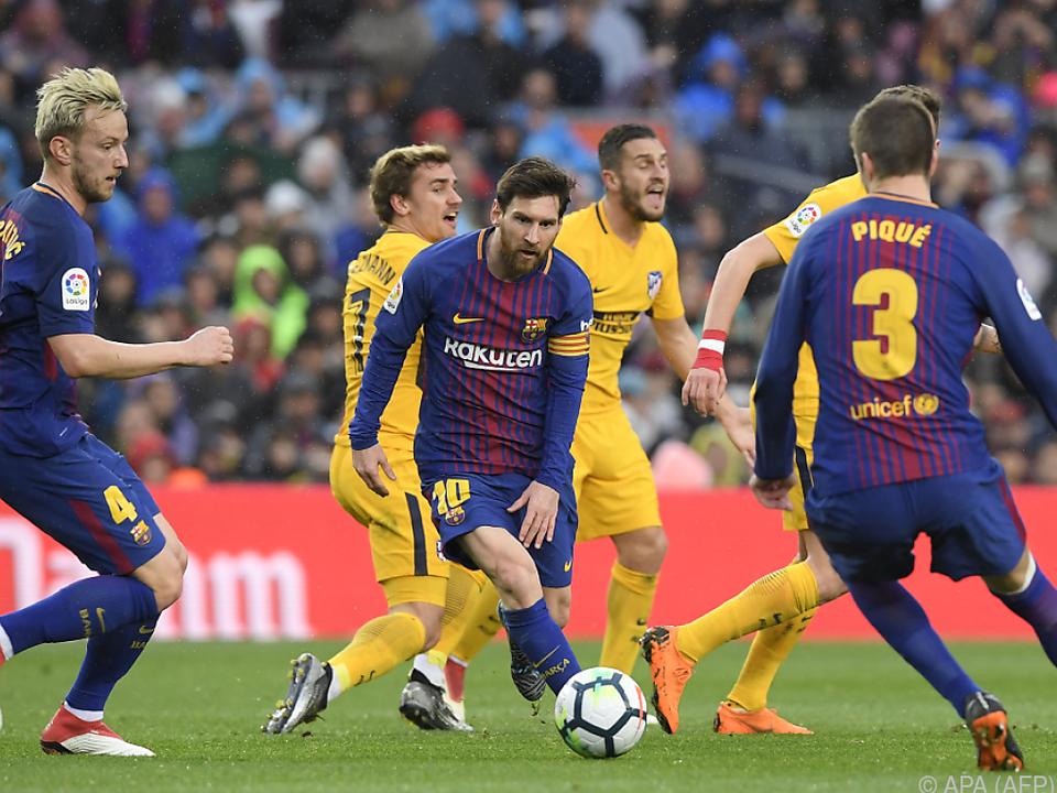 Messi holte gegen Atletico die drei wichtigen Punkte