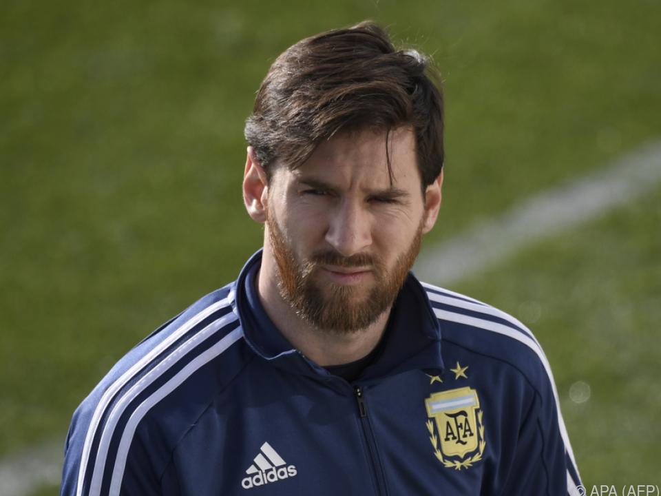 Messi wird am Dienstag auflaufen