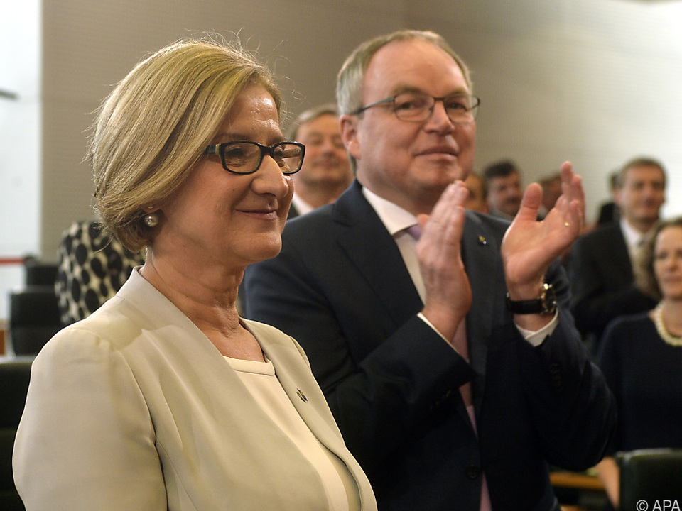 Mikl-Leitner erhielt 53 von 56 möglichen Stimmen