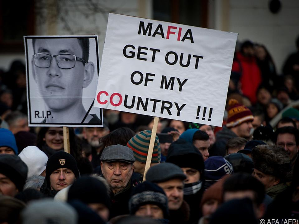 Nach dem Mord gehen die Spuren zur Mafia