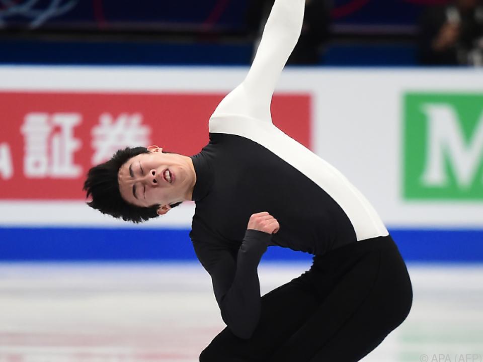 Nathan Chen hat Olympia-Niederlage überwunden
