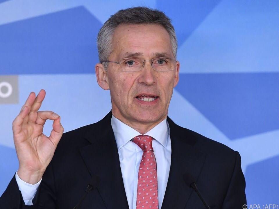 NATO beteiligt sich an Solidaritätsmaßnahme