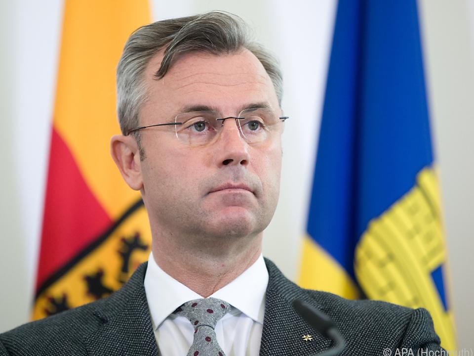 Norbert Hofer muss Projekte verschieben