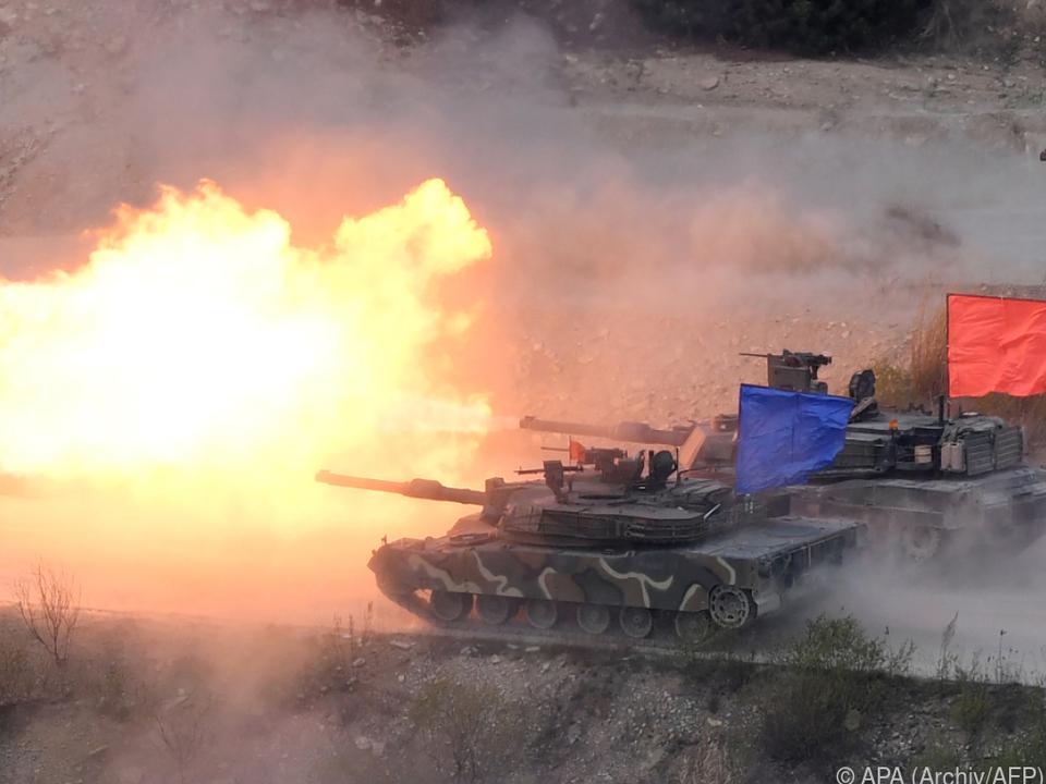 Nordkorea fühlt sich durch Maneuver provoziert