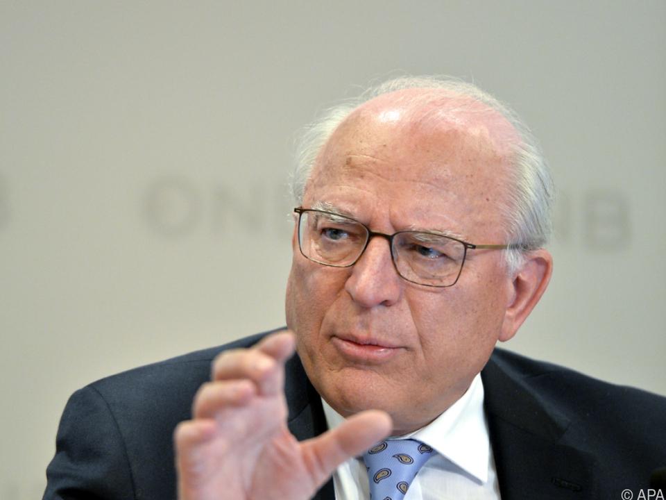 OeNB-Präsident Claus Raidl präsentierte eine gute Bilanz