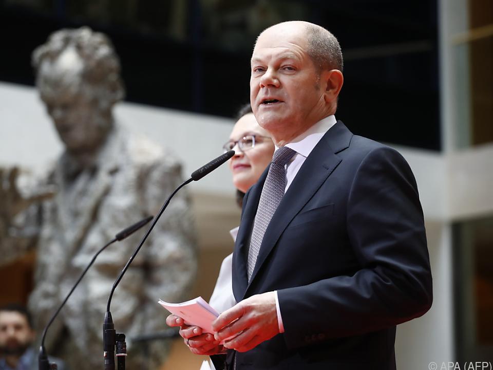 Olaf Scholz wird SPD-Vizekanzler