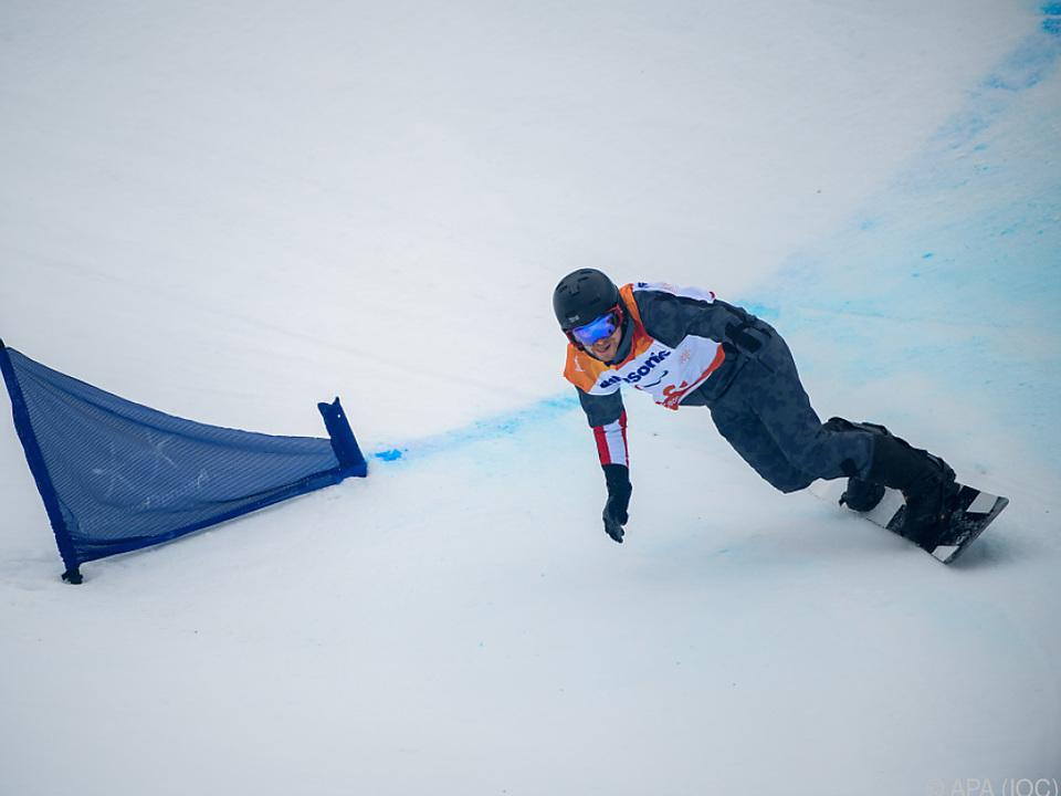 Patrick Mayrhofer holte erste Snowboard-Medaille