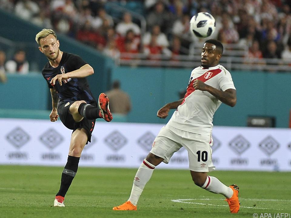 Peru überraschte Kroaten