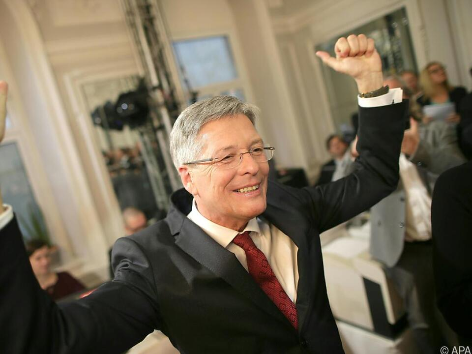 Peter Kaiser ist klarer Wahlsieger