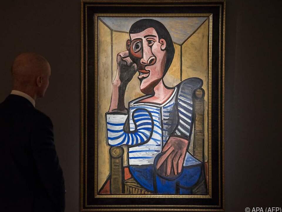 Picasso-Selbstporträt aus Zeit der französischen Nazi-Besatzung