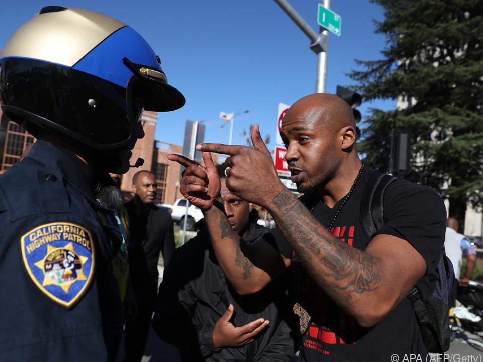 Polizeigewalt löst Proteste aus
