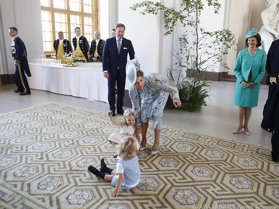Prinzessin Madeleine hat bereits zwei Kinder