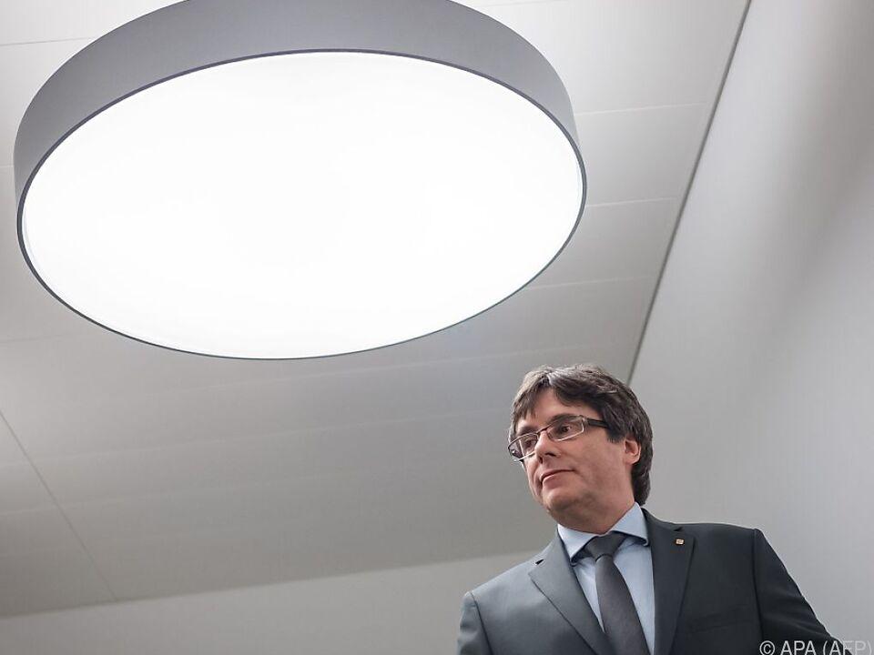 Puigdemont hatte seit Oktober des Vorjahres in Belgien im Exil gelebt