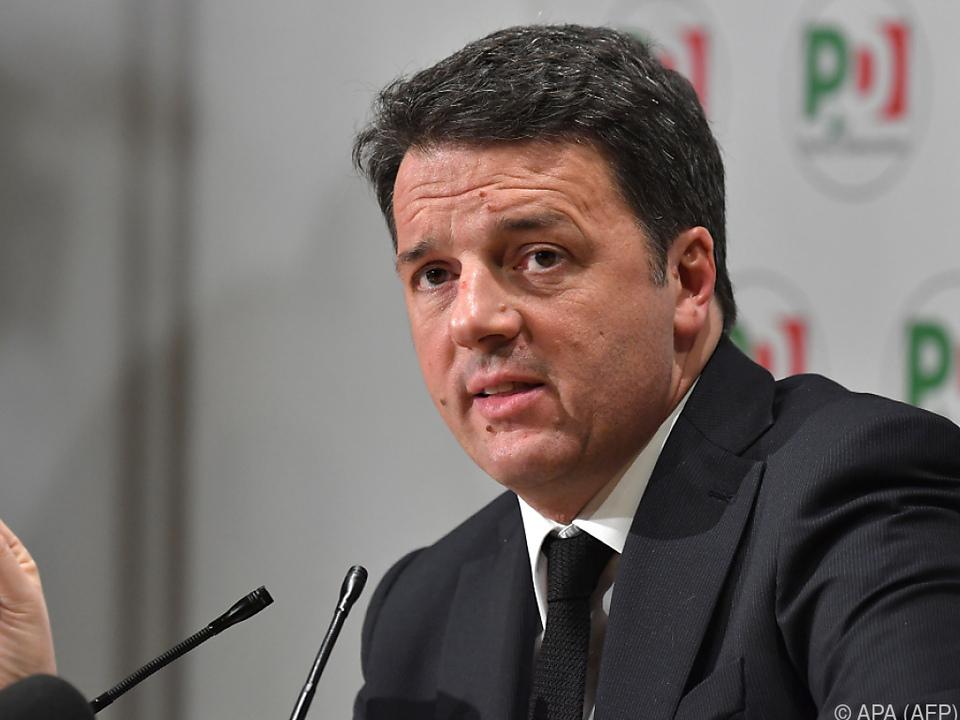 Renzi zog die Konsequenzen