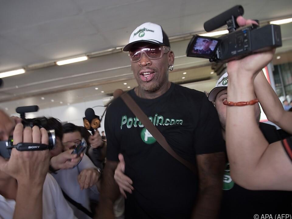 Rodman wurde betrunken am Steuer erwischt