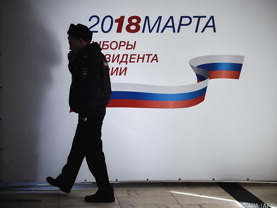 Russland wählt am Sonntag