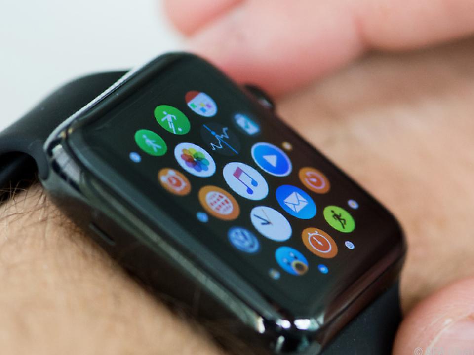 Die Apple-Watch ist die meist verkaufte Smartwatch