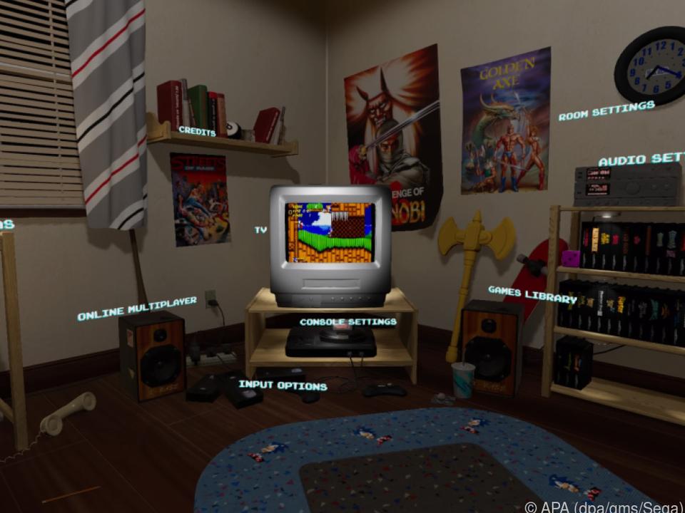 Die Spielesammlung bringt auch neue Funktionen wie Speichern oder Rückspulen