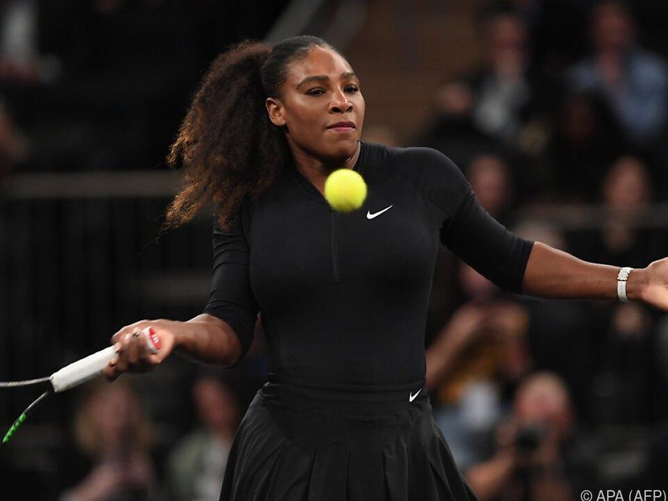 Serena Williams will es noch einmal wissen
