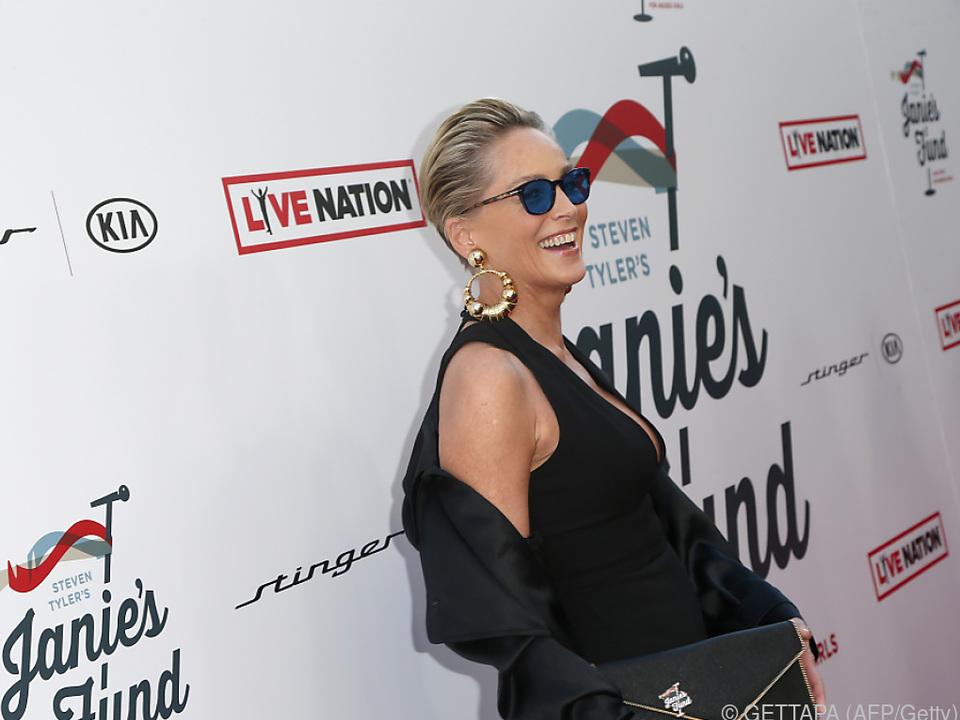 Sharon Stone bei einer Gala im Jänner 2018
