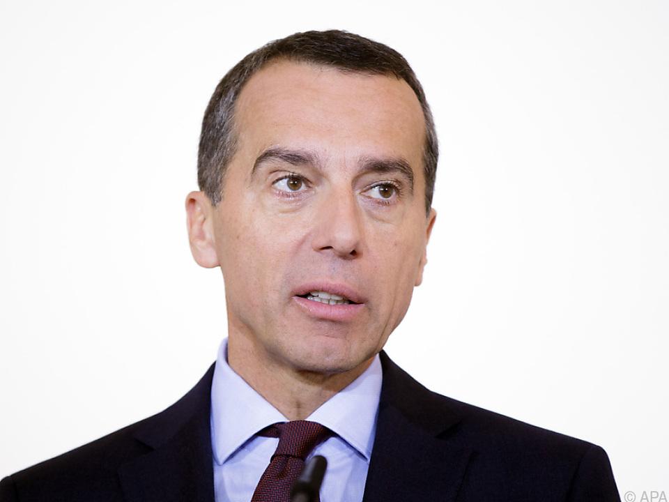 SPÖ-Chef Christian Kern hatte Ziel \