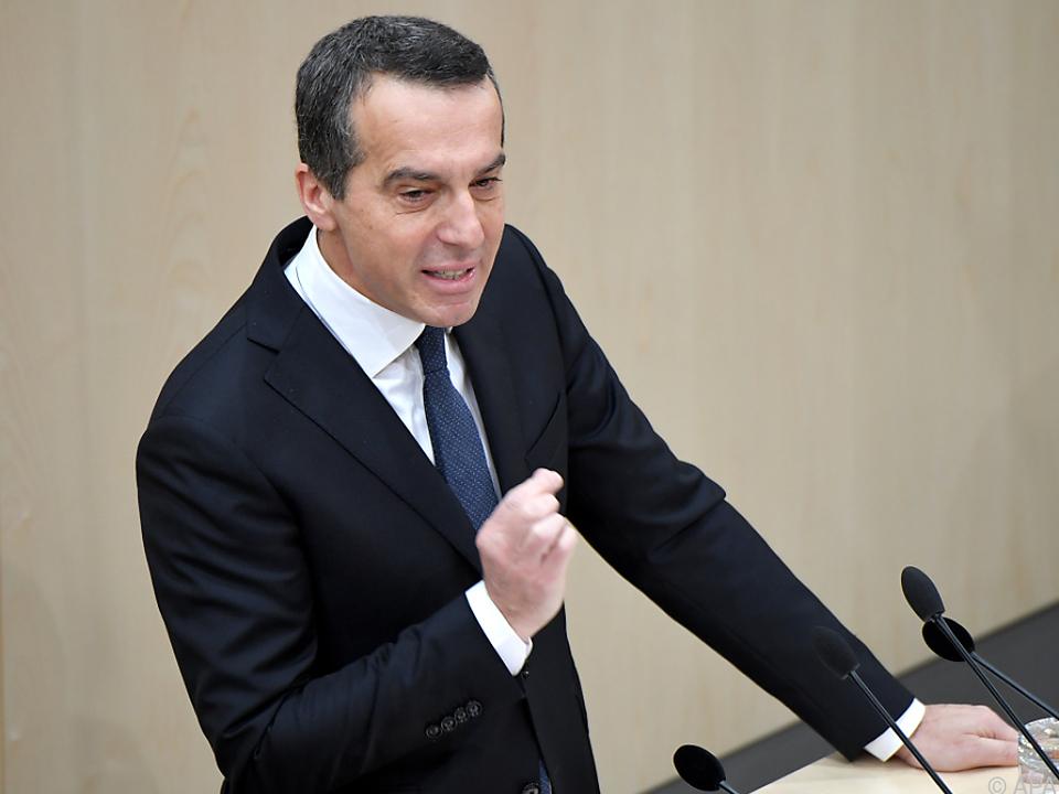 SPÖ-Chef Kern spricht klare Worte