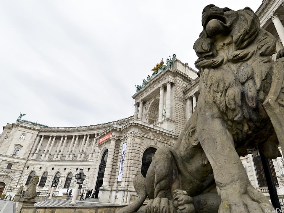 Staatsakt in der Hofburg wien