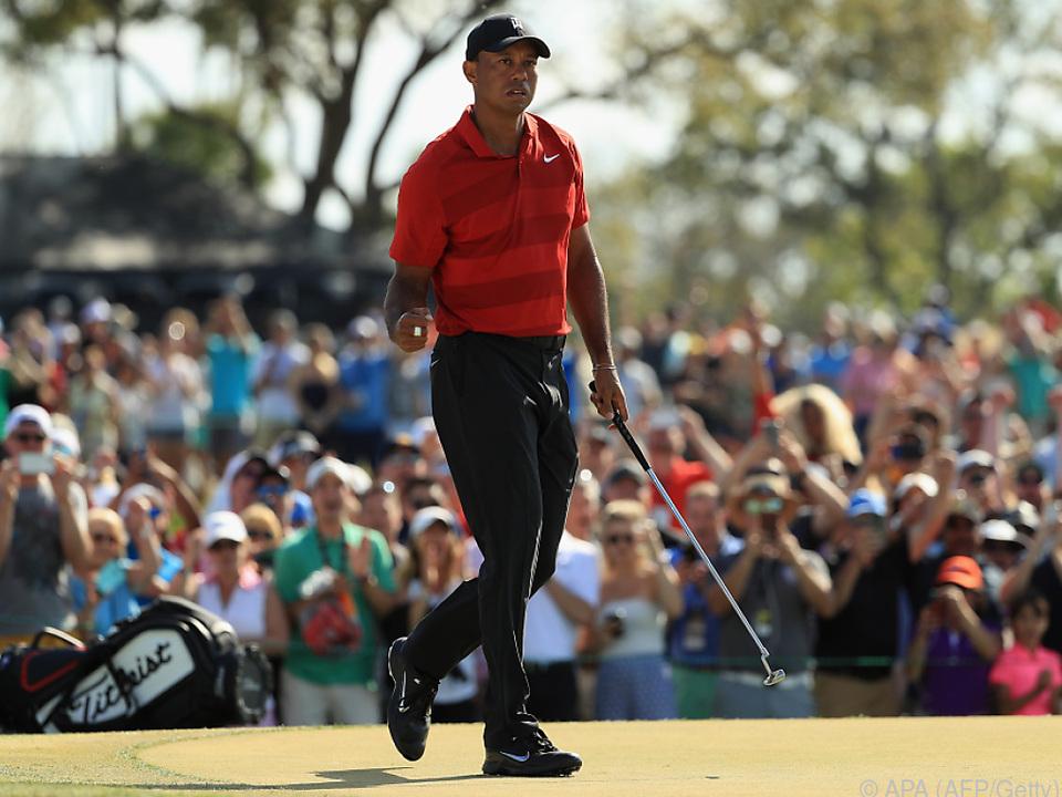 Starke Vorstellung von Tiger Woods in Orlando