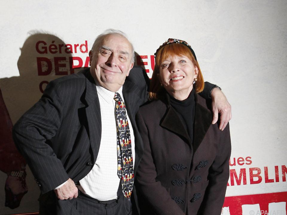 Stephane Audran mit Ex-Ehemann Claude Chabrol