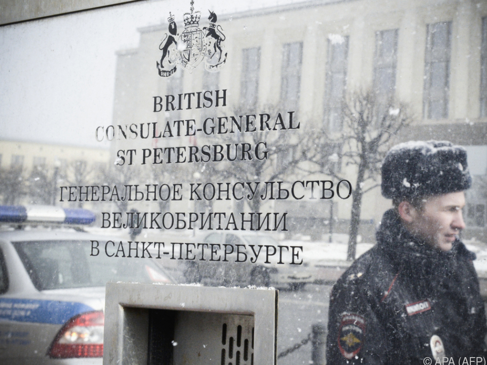 Streit zwischen Russland und Großbritannien spitzt sich zu