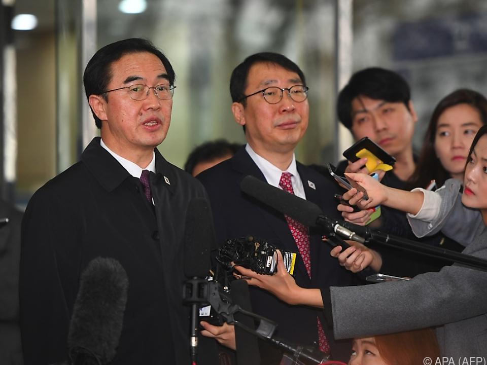 Südkoreas Vereinigungsminister Cho Myoung-gyon