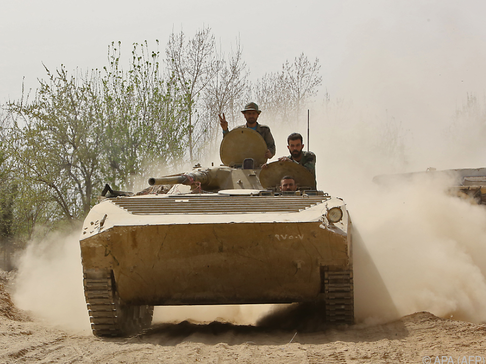 Syrische Armee kontrolliert jetzt 90 Prozent der Region