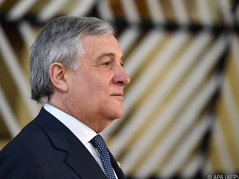 Tajani wäre bereit, den Posten des Ministerpräsidenten zu übernehmen