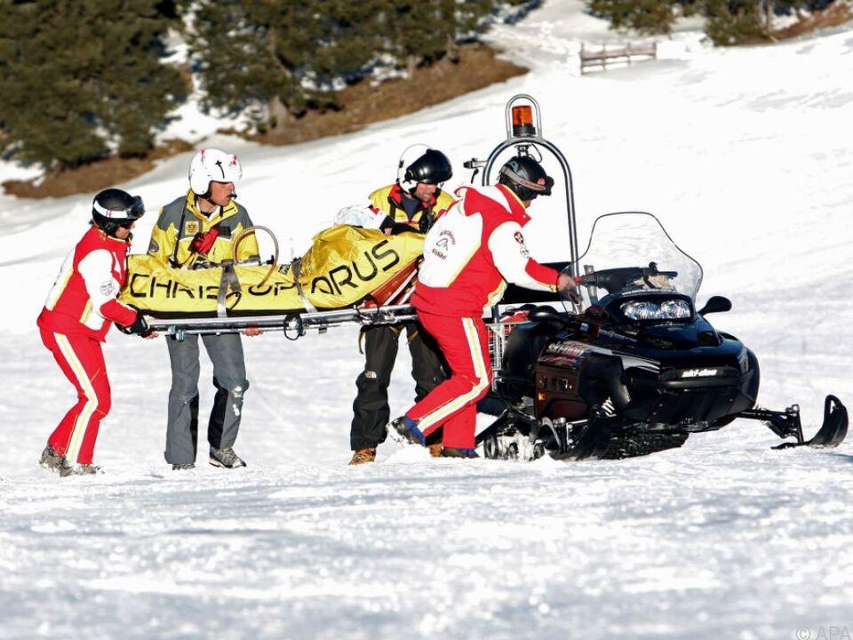 Themenbild Skiunfälle