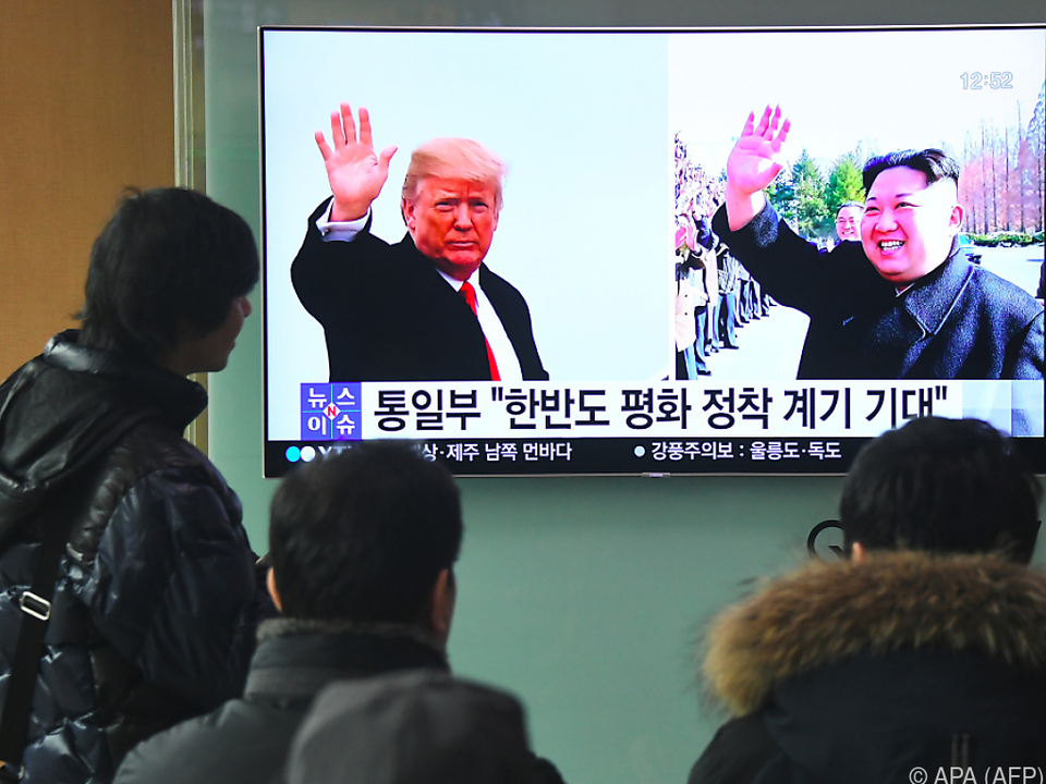 Südkorea: Donald Trump zu Treffen mit Kim Jong Un bereit