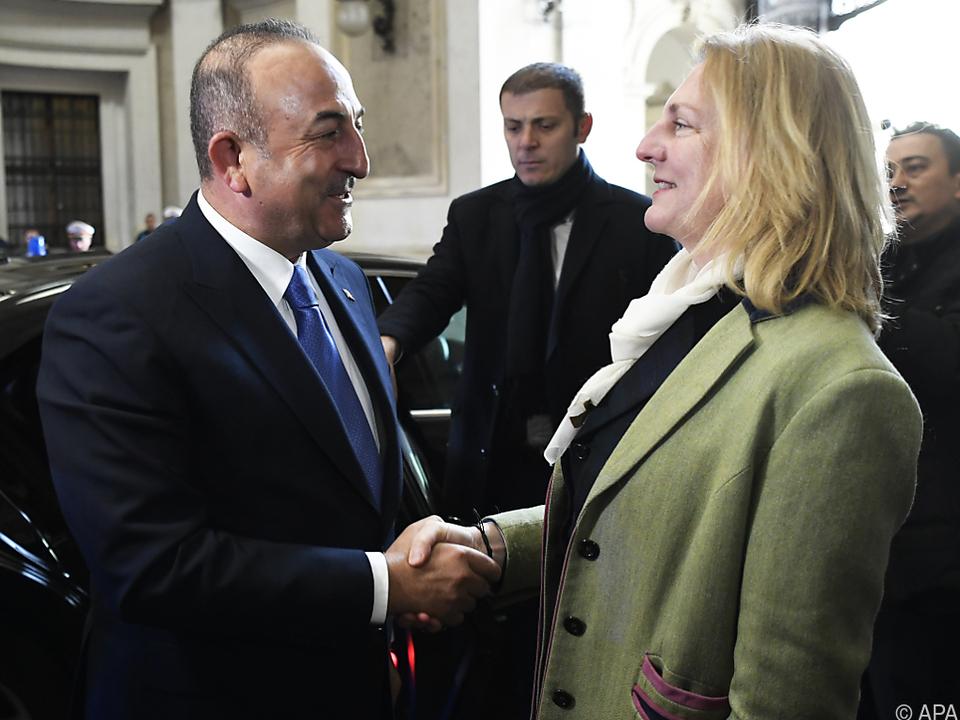 Türkischer Außenminister Cavusoglu zu Besuch in Wien
