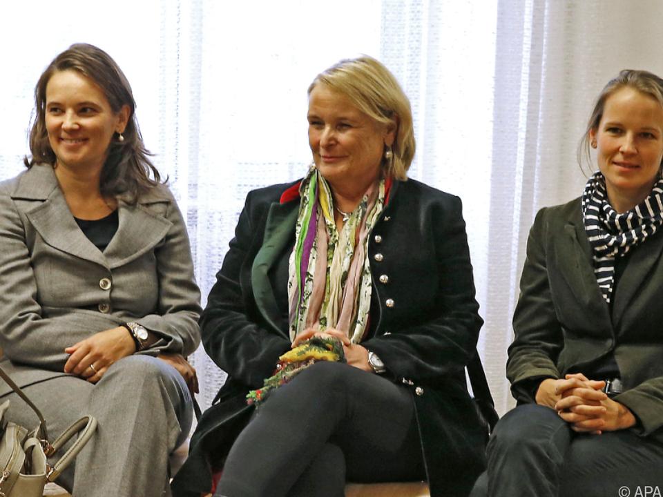 Ulrike Haider-Quercia, Claudia Haider und Cornelia Mathis-Haider