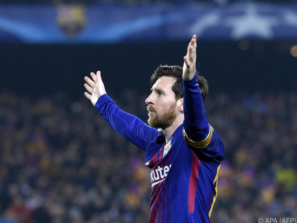 Umjubelter Messi traf gegen Chelsea zweimal