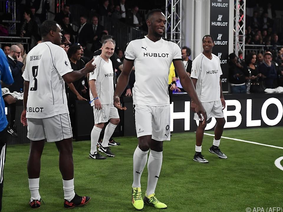 Usain Bolt will sich einen Traum erfüllen