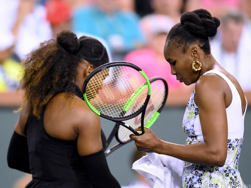 Venus als Siegerin im Schwestern-Duell