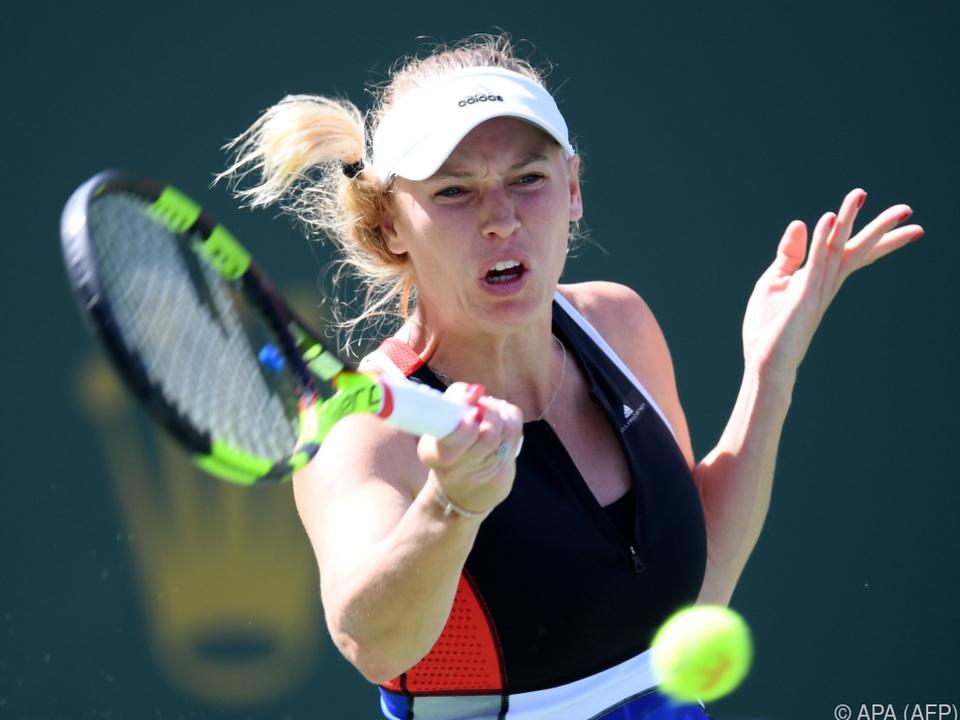 Verpasste Chance von Caroline Wozniacki