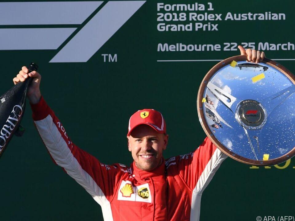 Vettel feierte seinen 48. Grand-Prix-Sieg