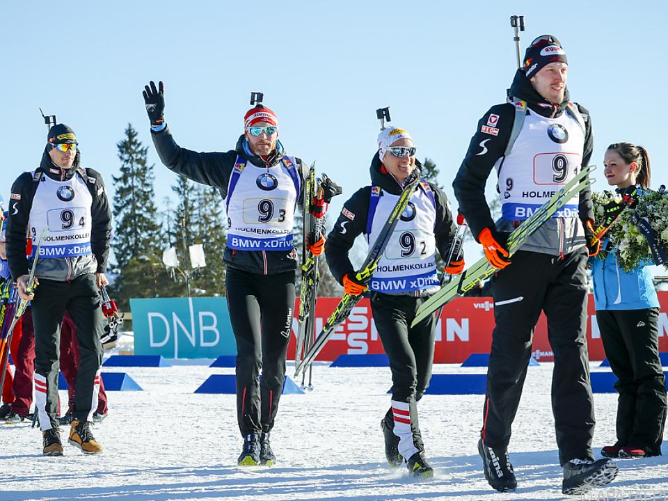 Von links nach rechts: Eberhard, Eder, Leitner, Landertinger
