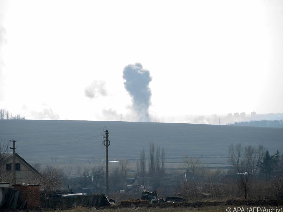 Waffenruhen haben in der Ukraine bisher nicht lange gehalten