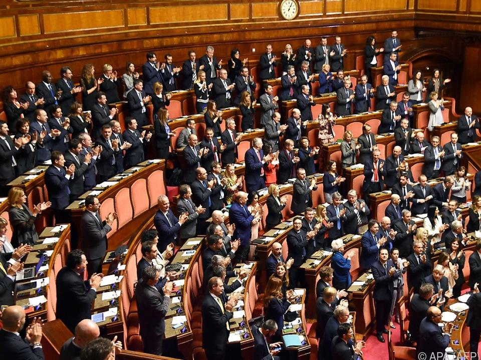 Wichtige Entscheidung in den italienischen Parlamentskammern