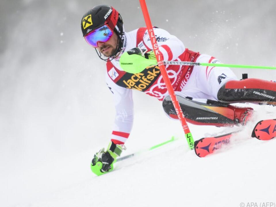 Zweifacher Kranjska-Gora-Sieger Marcel Hirscher