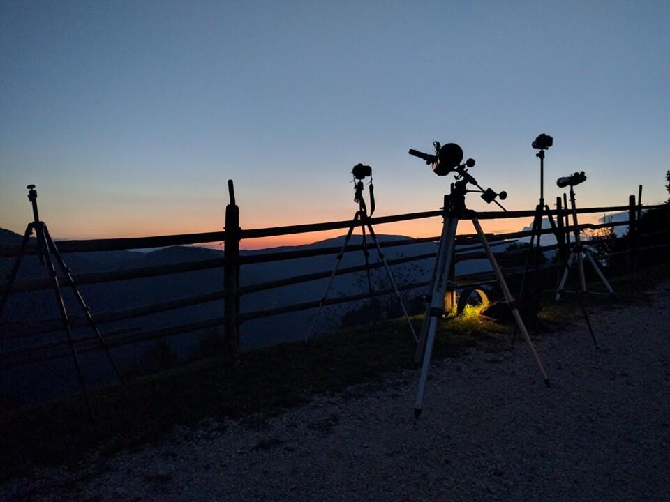 Teleskop Talfer Mond Sterne Planeten
