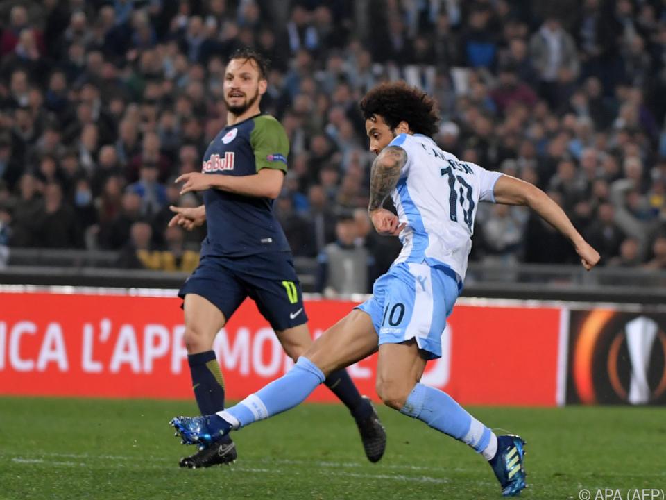 3:2 durch Felipe Anderson - Lazio für Salzburg eine Nummer zu groß